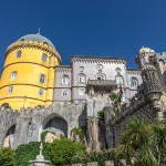 The Pena National Palace (Palacio da Pina) in Sintra, Portugal