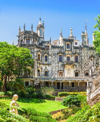 The Regaleira Palace (Quinta da Regaleira), Sintra, Portugal