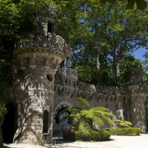 Sintra palace gardens