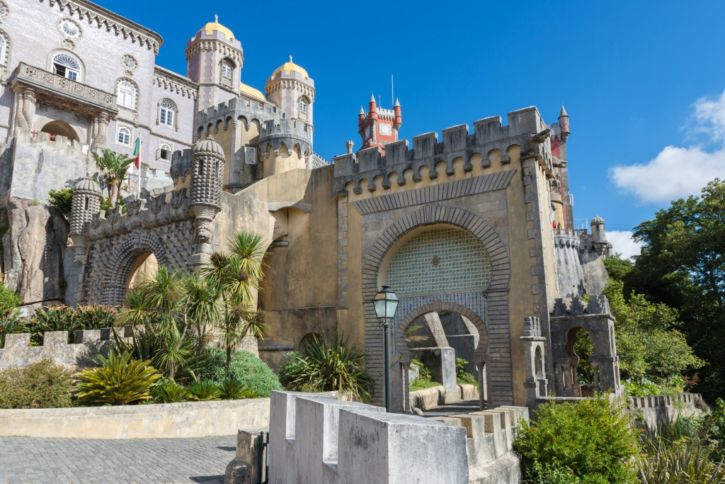 Pena Palace in Sintra on a small group tour